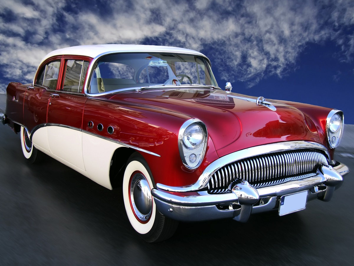 Klasyczny samochód starej daty