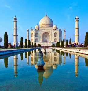 zabytki indii Taj Mahal